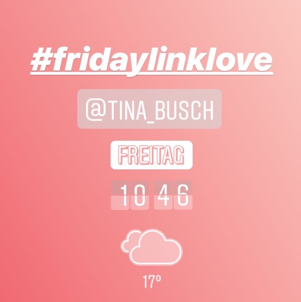 Friday Link Love – www.tinabusch.com