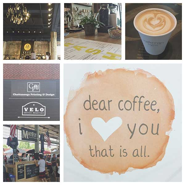Chattanooga coffee shops