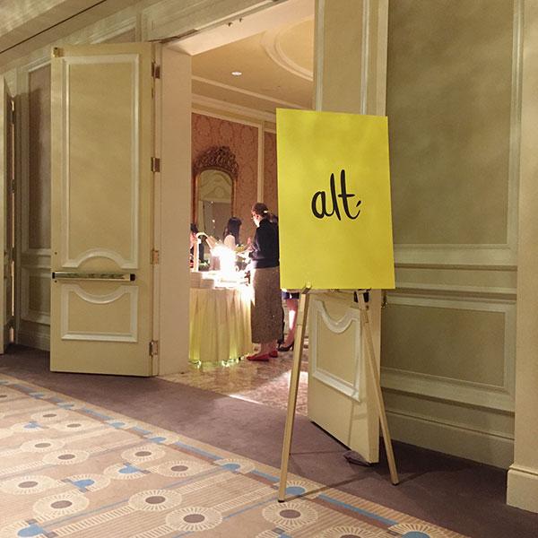 Alt Summit 2016 sign