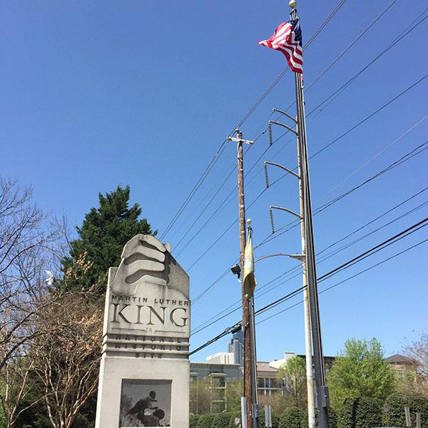 99 things list MLK Memorial Atlanta