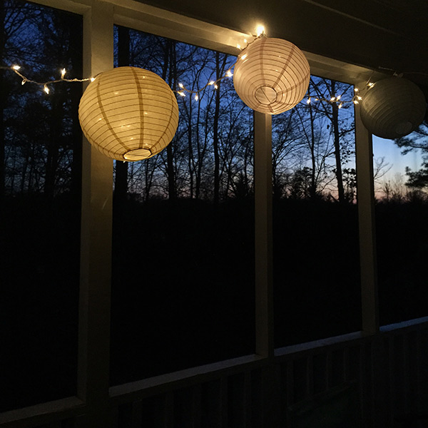 99 things back porch