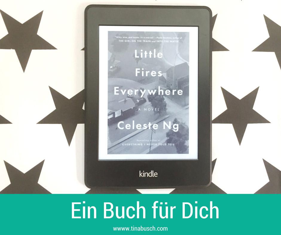 Ein Buch für Dich: Little Fires Everywhere von Celeste Ng