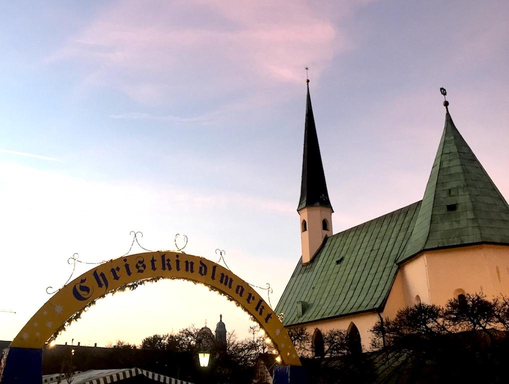 Foto vom Christkindlmarkt in Altötting
