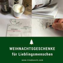 Schöne Weihnachtsgeschenke für Lieblingsmenschen – www.tinabusch.com