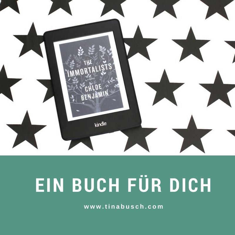 Ein englischsprachiges Buch – The Immortalists – www.tinabusch.com